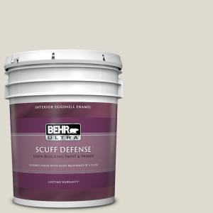Behr Ultra 5 Gal Mq3 18 Ginger Sugar Extra Durable Eggshell Enamel Interior Paint Primer 275005 The Home Depot