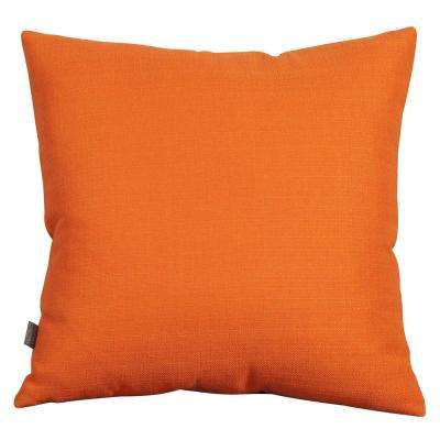 Sterling Orange Canyon 20 in. x 20 in. Decorative Pillows