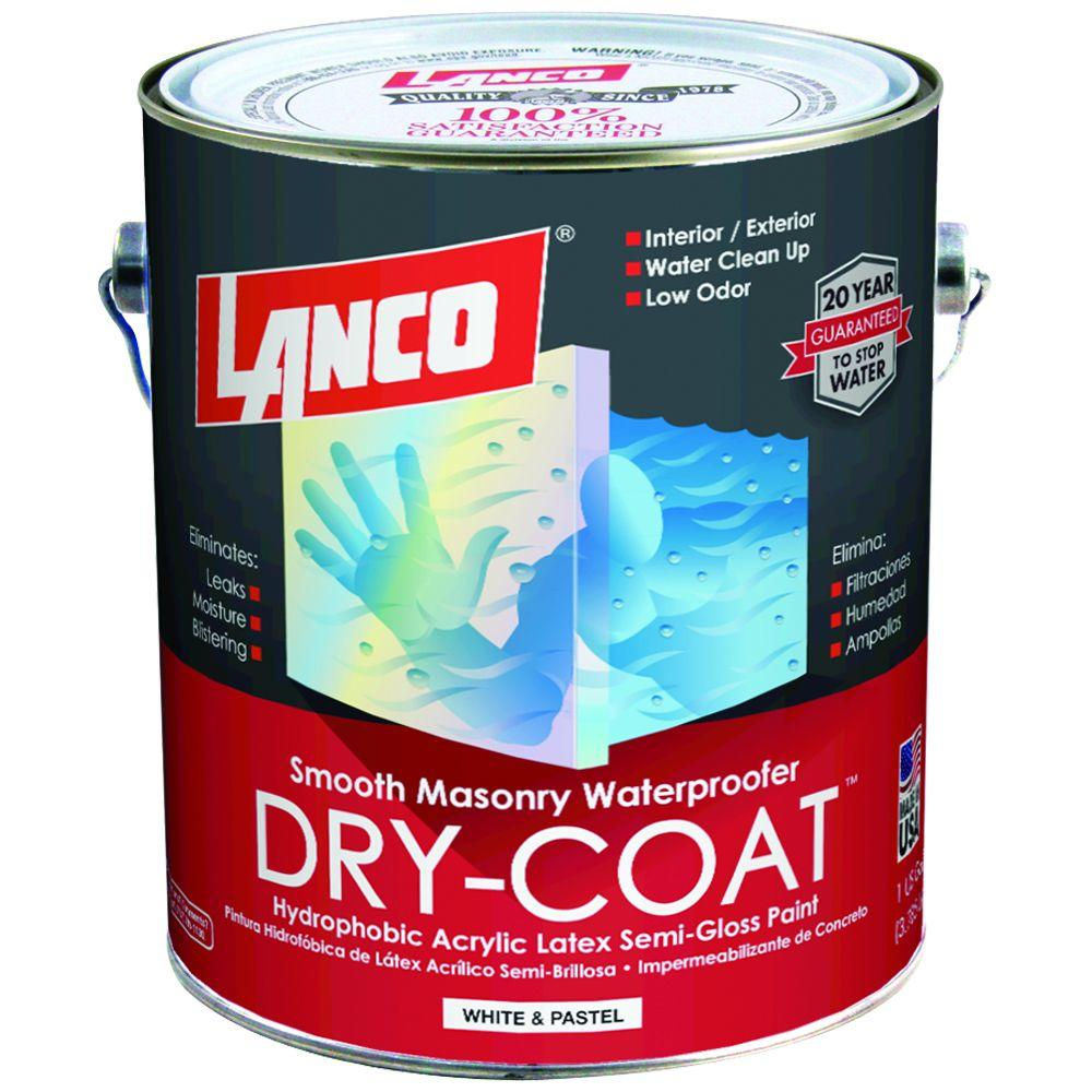Dry Coat 1 gal. Accent Semi-Gloss Waterproofing Paint