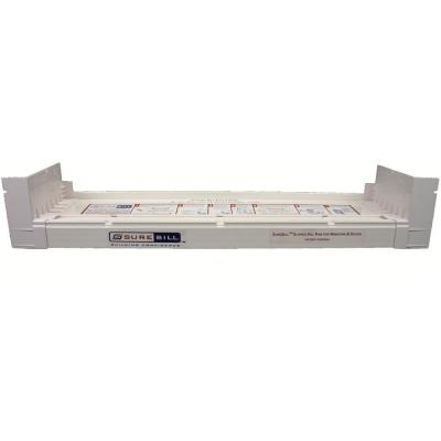2-1/16 in. x 117 in. White PVC Sloped Sill Pan for Door and Window Installation and Flashing (Complete Pack)