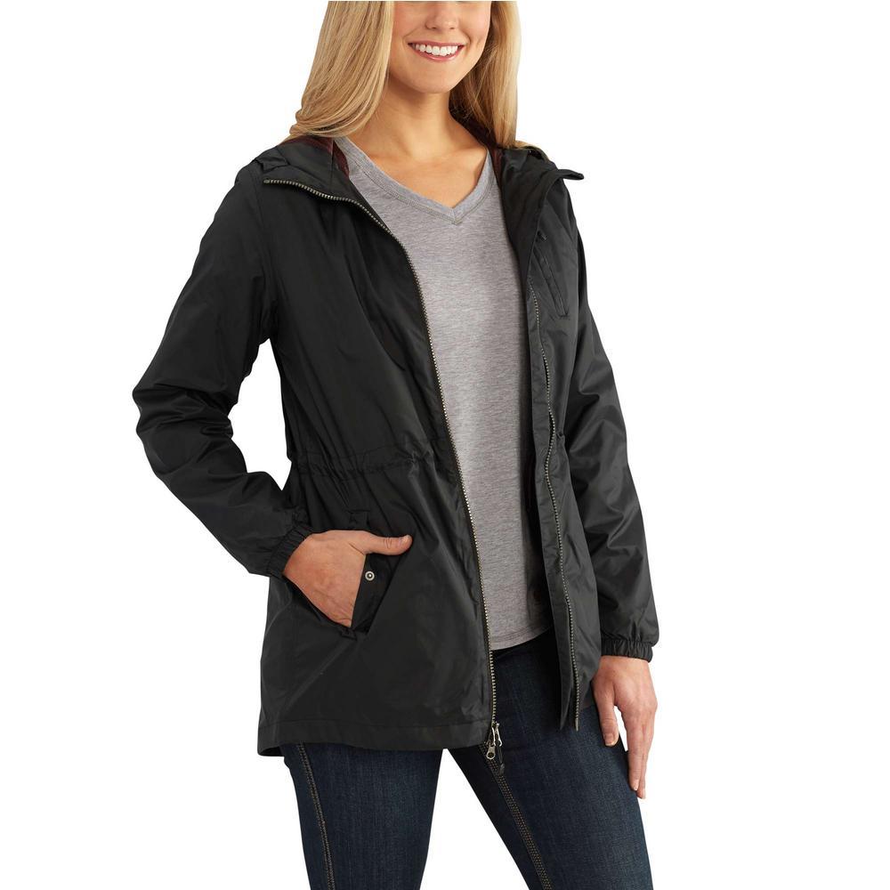 d02d1f136 Carhartt Women's Medium Black Nylon Rockford Jacket