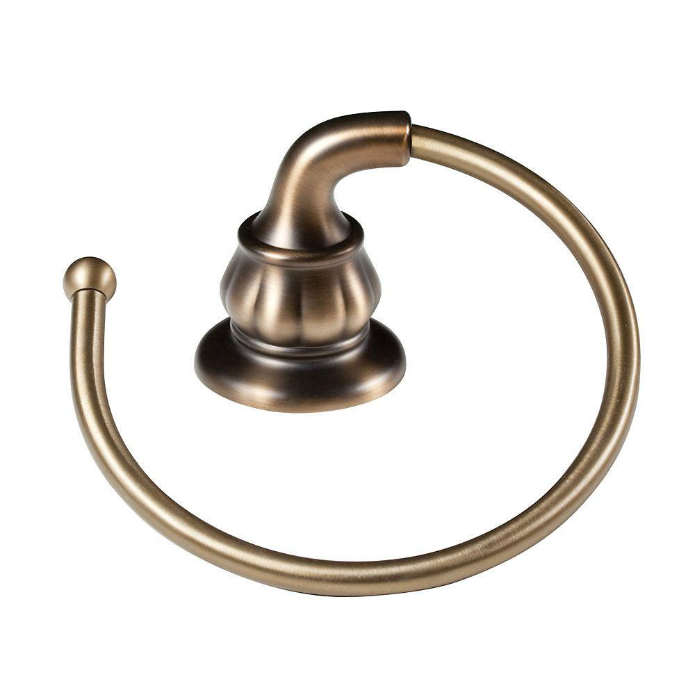 Pfister Treviso Towel Ring in Velvet Aged Bronze