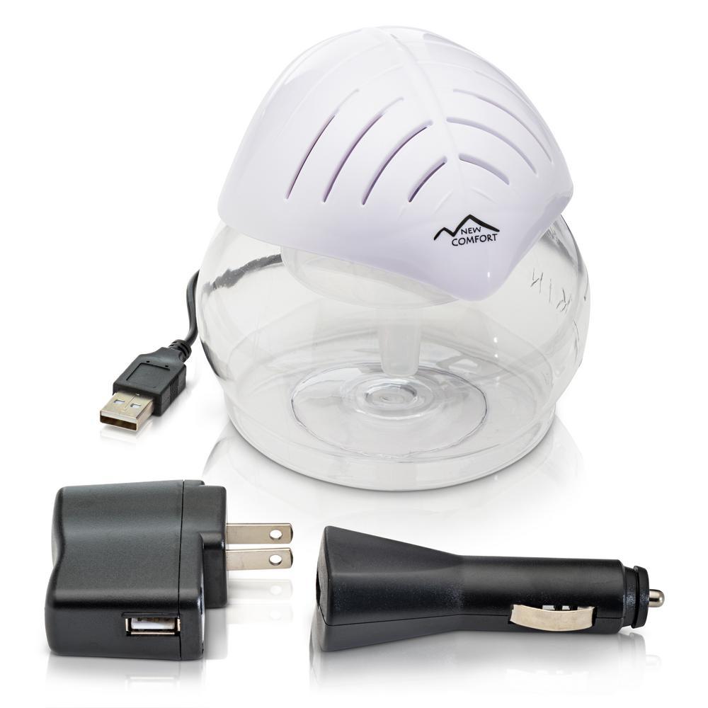 Water Based Air Cleaner : New comfort white mini desktop water based air purifier