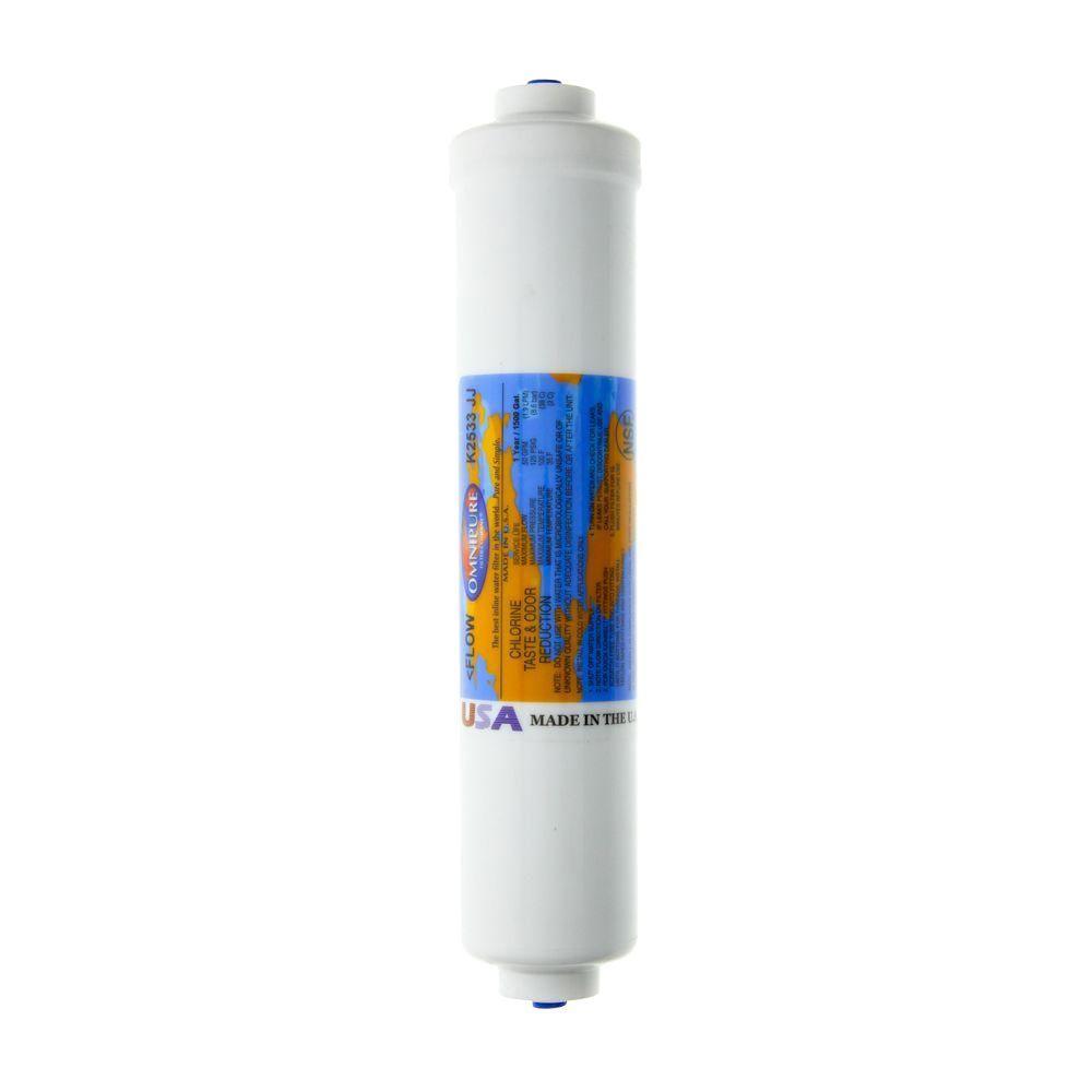 K2533-JJ GAC Inline Water Filter