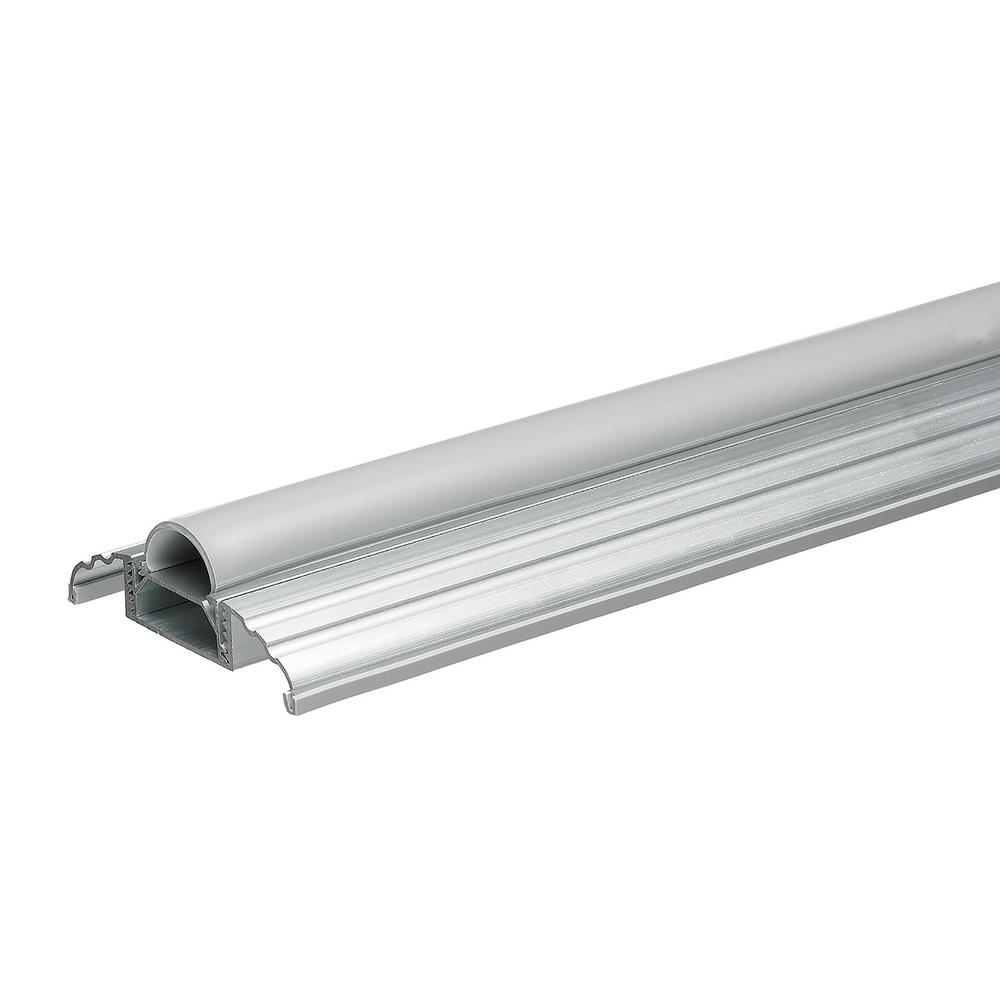 Frost King E/O 3-1/2 in. Wide x 36 in. Silver Adjustable Height Threshold
