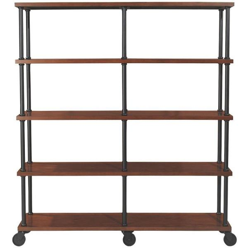 Home Decorators Industrial Mansard Open Bookcase