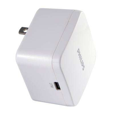 1 USB-C Wall Charger with Power Delivery in White