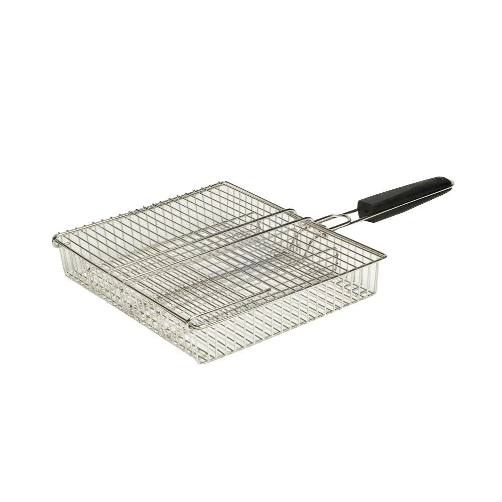 Stainless 4-Compartment Basket