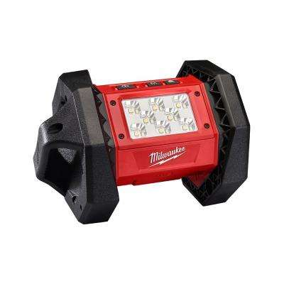 M18 18-Volt Lithium-Ion Cordless 1300-Lumen LED Flood Light (Tool-Only)