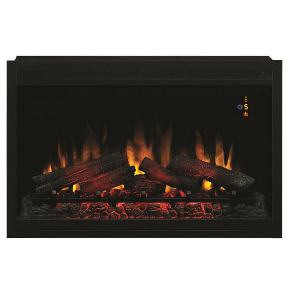 The ClassicFlame PRO 36 in. traditional built-in electric fireplace insert