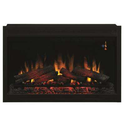 Sensational 36 In Traditional Built In Electric Fireplace Insert Download Free Architecture Designs Salvmadebymaigaardcom
