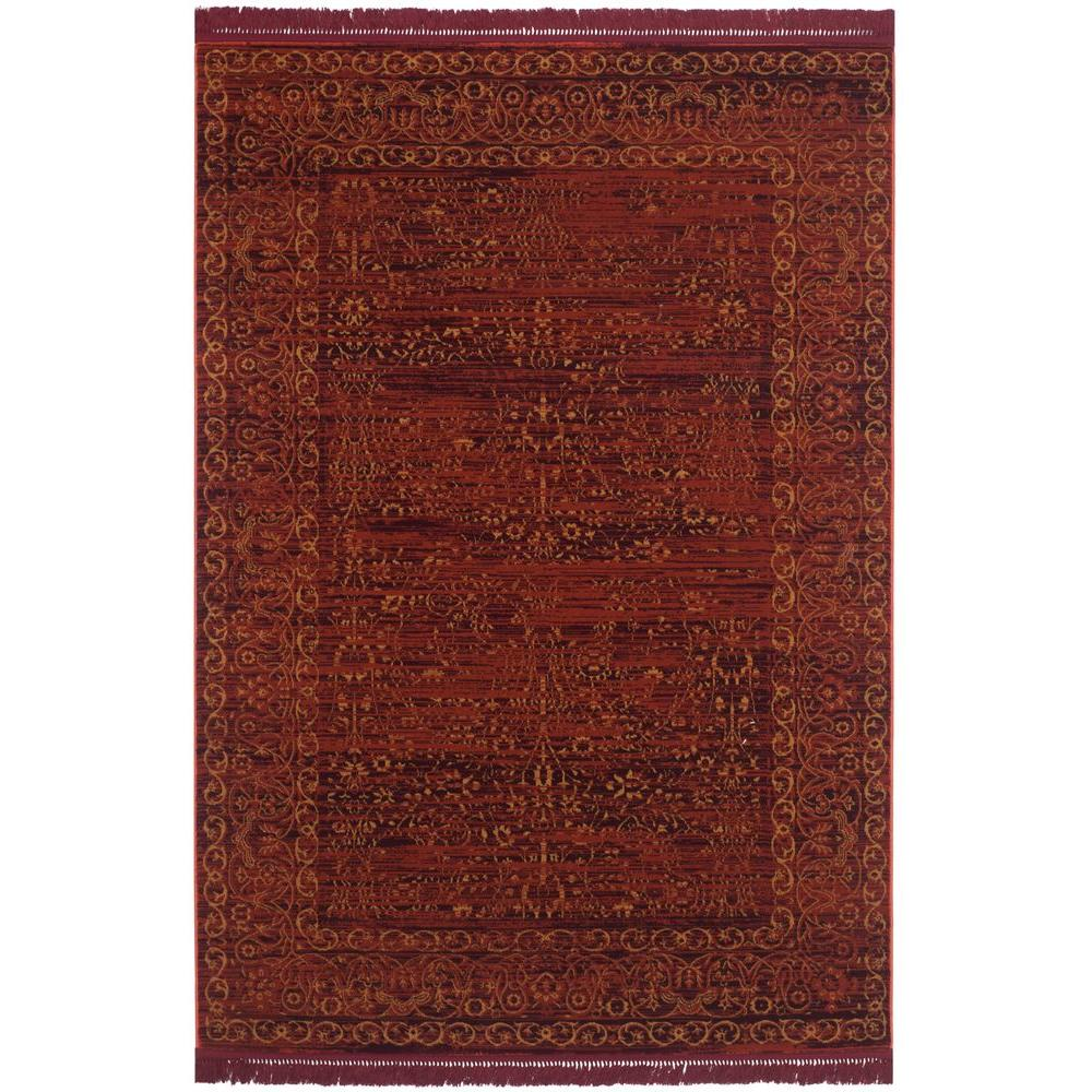 Safavieh Serenity Ruby/Gold 9 ft. x 12 ft. Area Rug