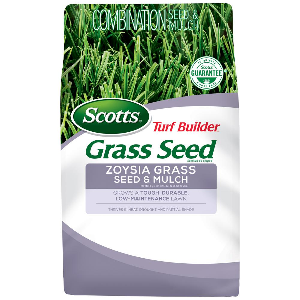 Scotts Scotts Turf Builder Grass Seed Zoysia Grass Seed And Mulch
