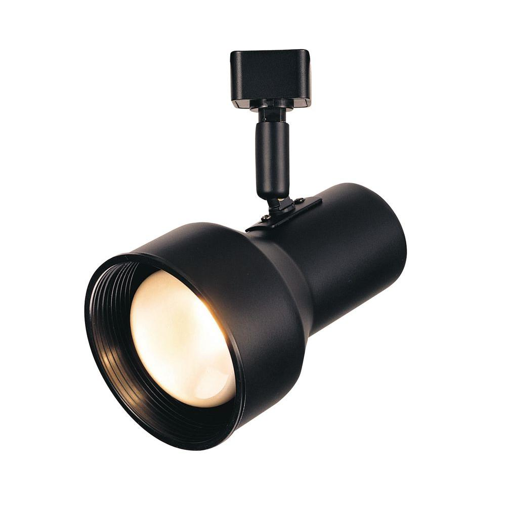 HAMPTON BAY R20 Black Step Cylinder Track Lighting