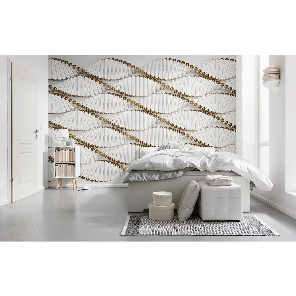 Komar Twist Contemporary Wall Mural 8 205 The Home Depot