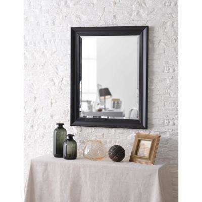 Eminence square Black Wall Mirror