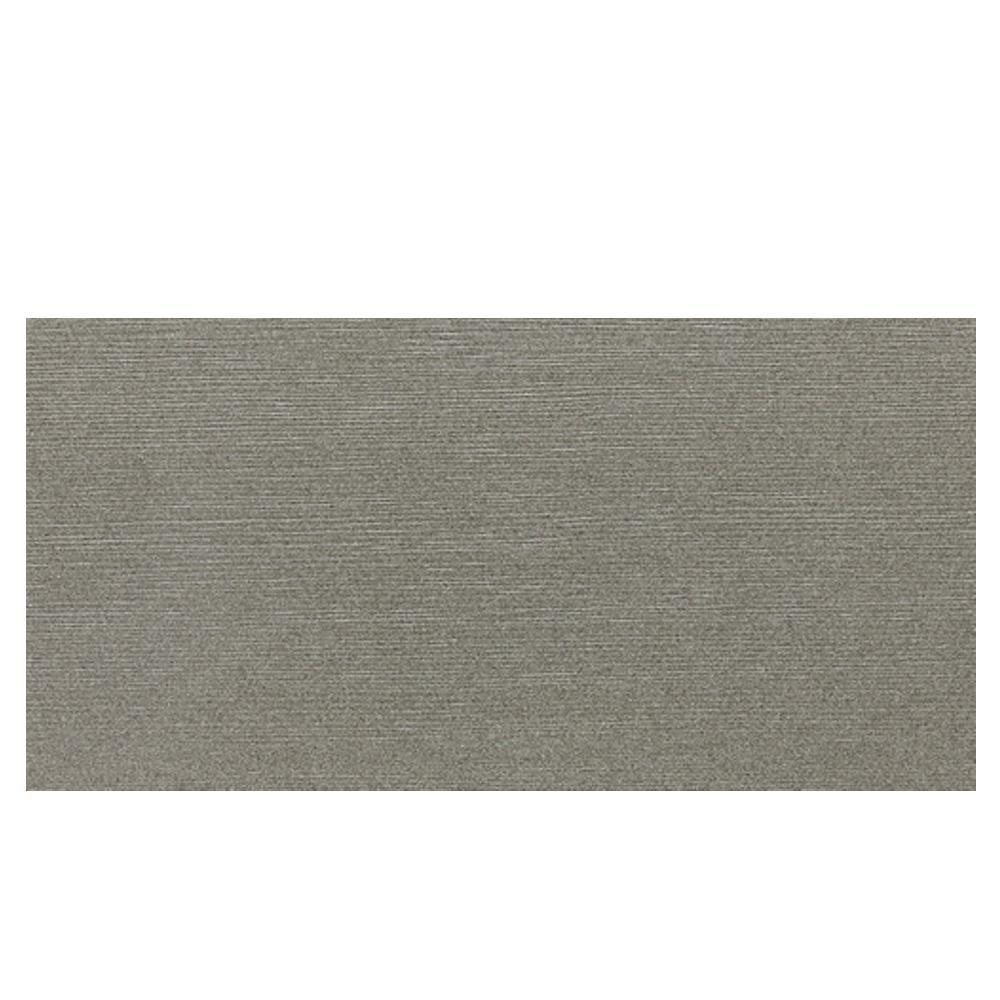 Daltile Identity Metro Taupe Grooved 12 x 24 in. Polished Porcelain Floor and Wall Tile (11.62 sq. ft. / case)-DISCONTINUED