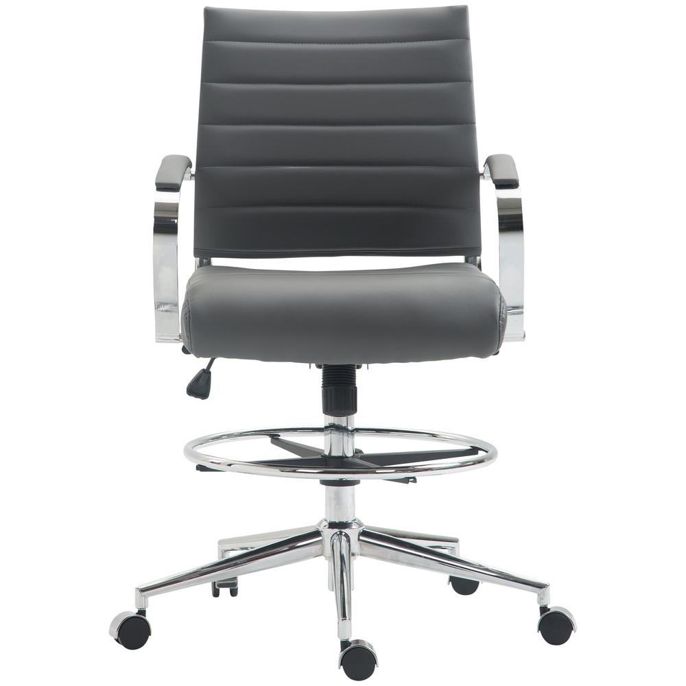 Grey Tremaine Drafting Chair