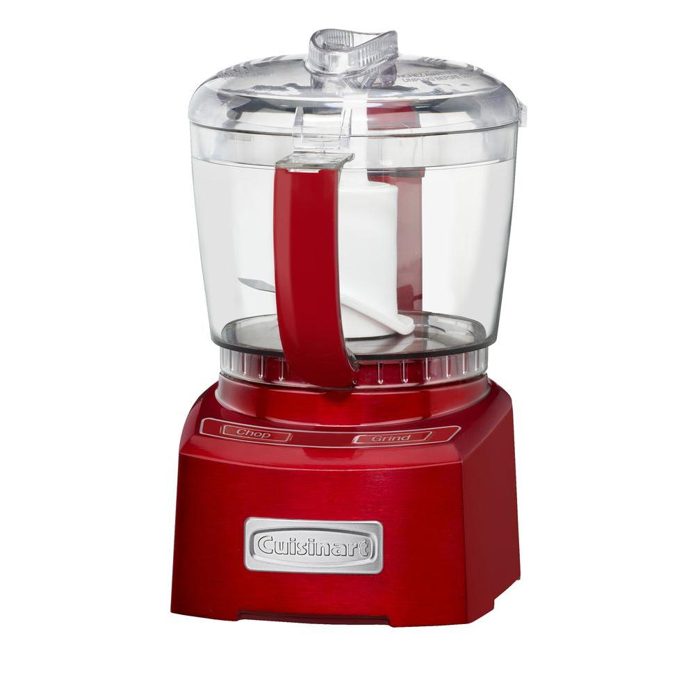 Cuisinart Elite Collection 4-Cup Chopper/Grinder in Metallic Red-DISCONTINUED