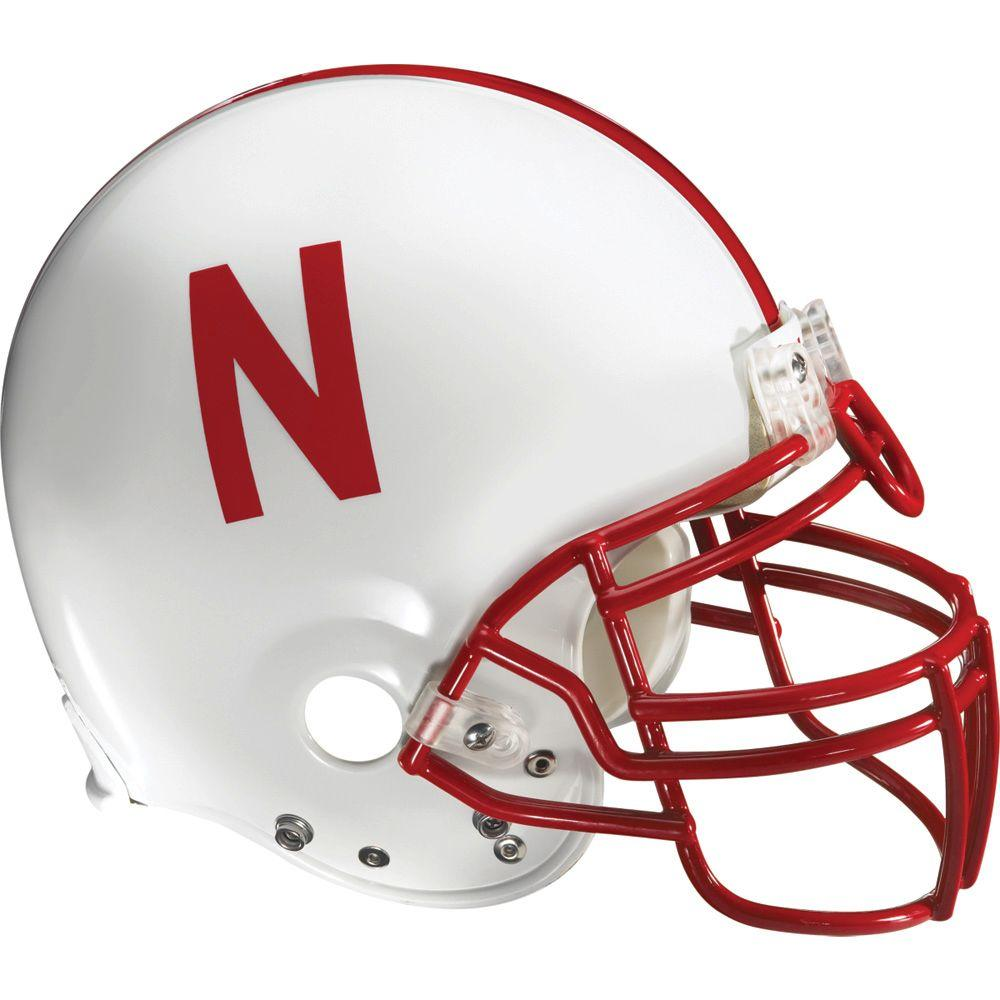 Fathead 53 in. x 50 in. Nebraska Helmet Wall Decals