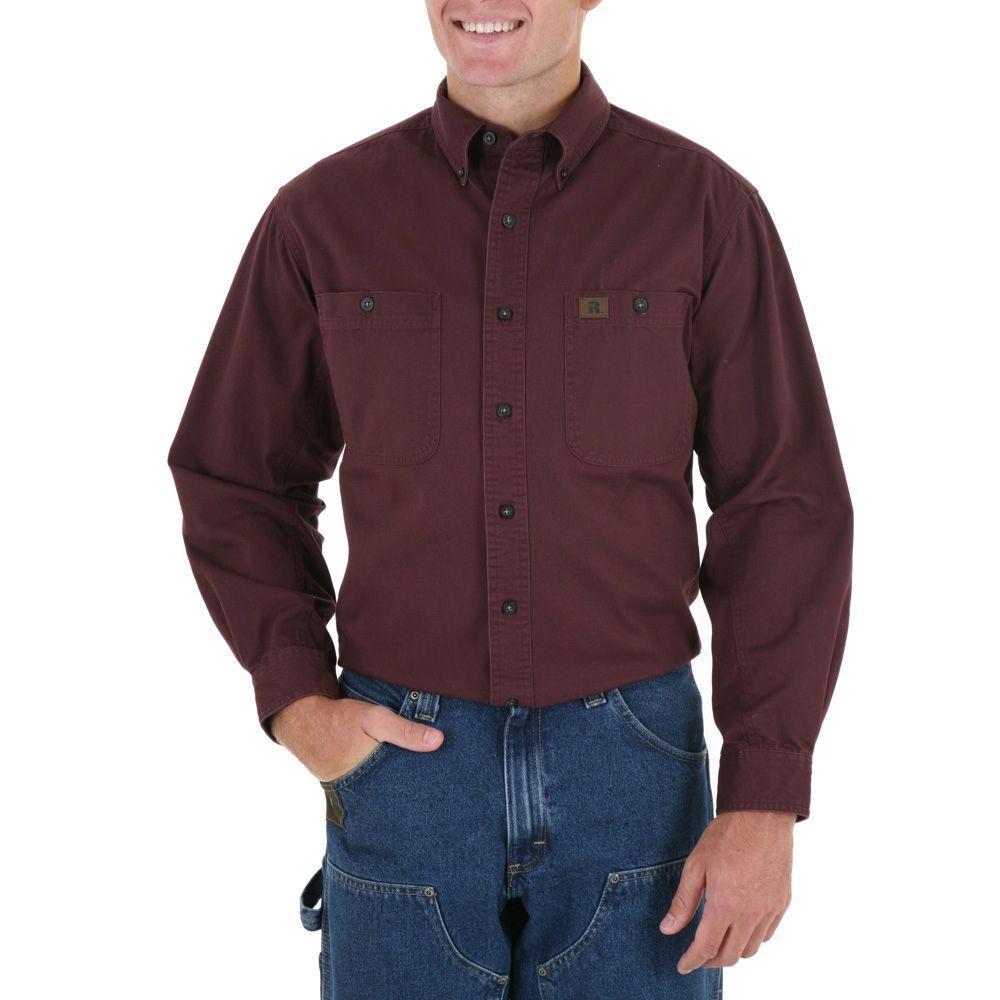 X-Large Men's Logger Shirt