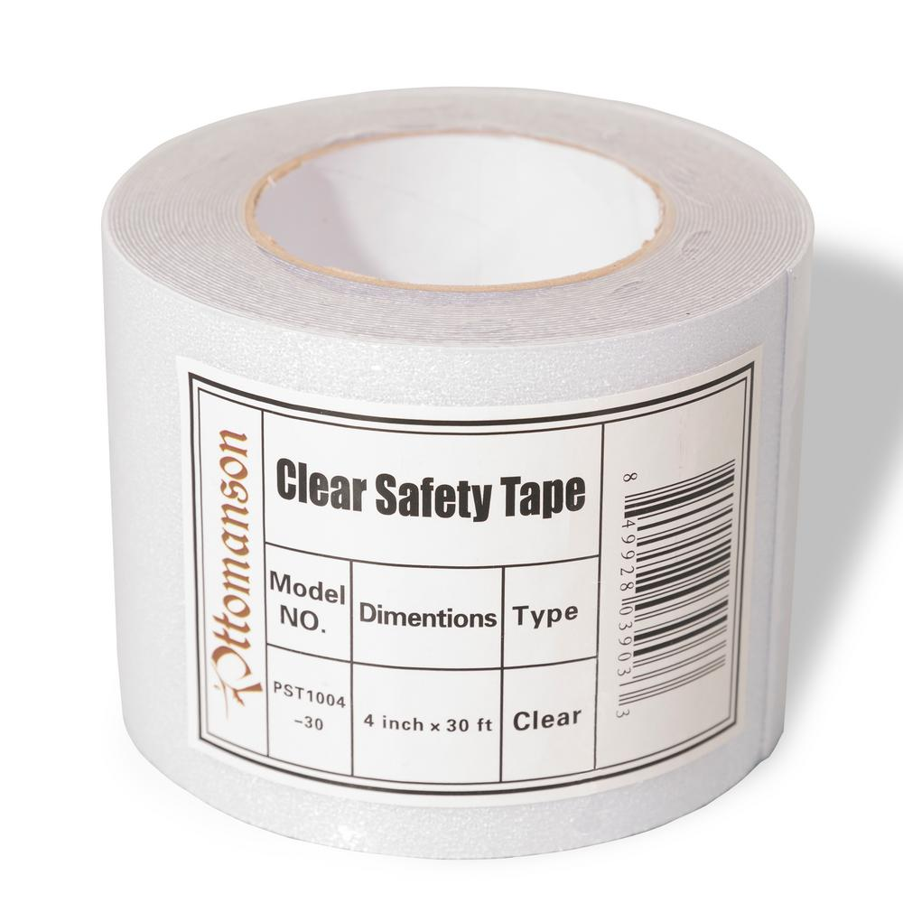 Ottomanson Safety Treads 4 In X 30 Ft Clear Adhesive