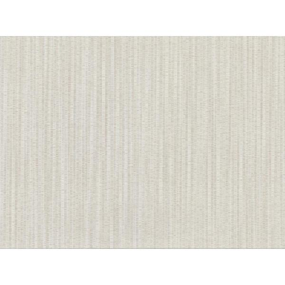 8 in. x 10 in. Volantis Cream Textured Stripe Wallpaper Sample