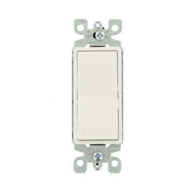 Decora 15 Amp 3-Way Illuminated Switch, White