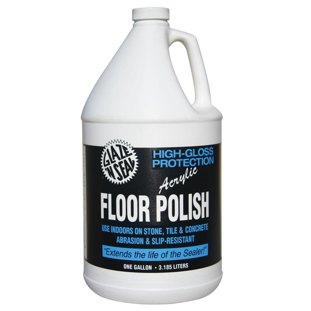 Glaze N Seal 1 Gal Concrete High Gloss Floor Polish 423