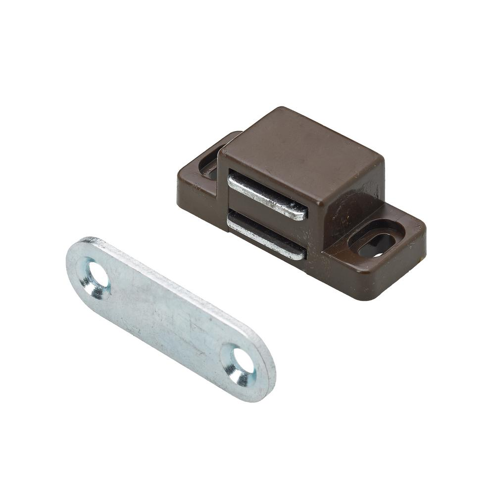 Everbilt 44 Lbs Magnetic Catch Brown 1 Pack