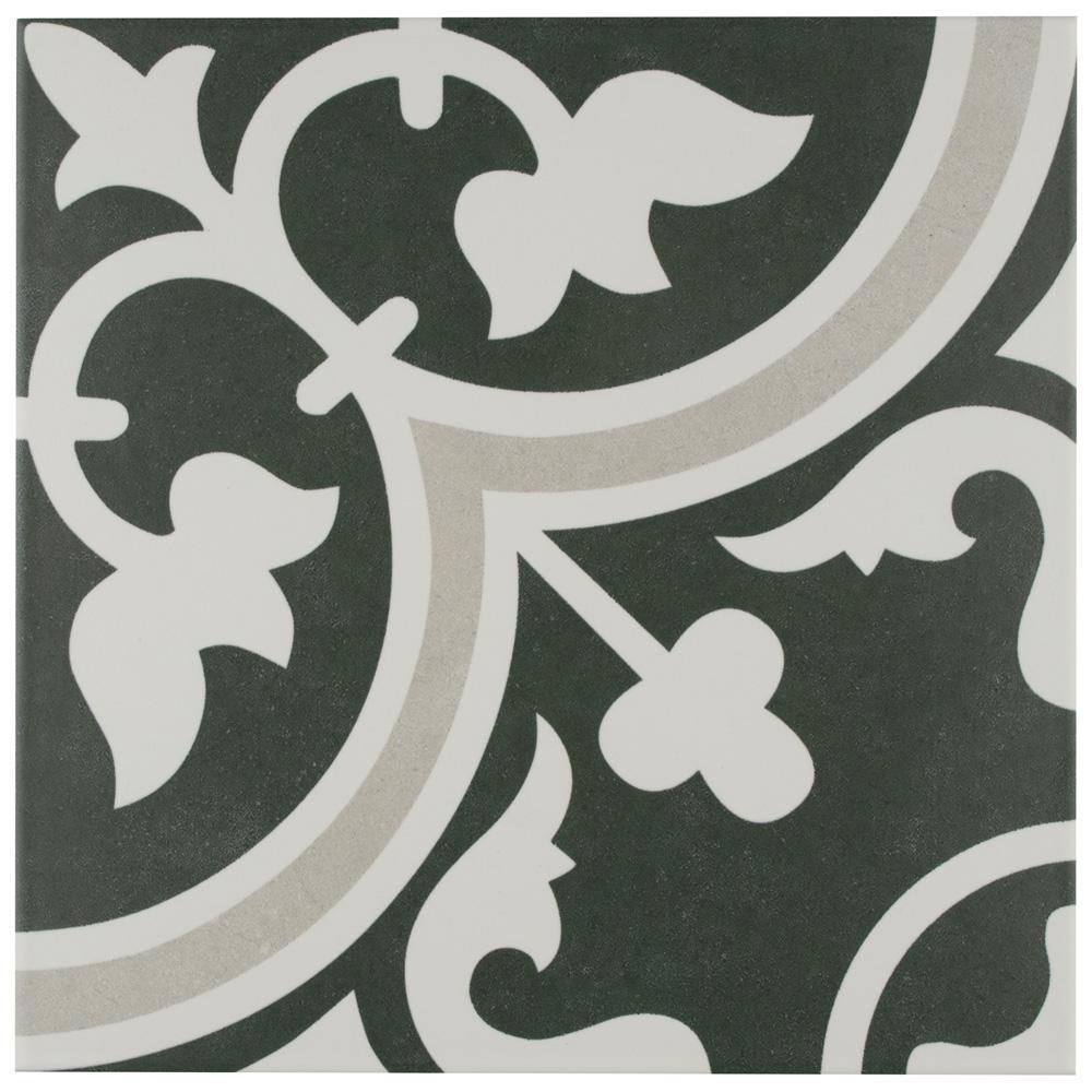 Merola Tile Arte Due Encaustic 9-3/4 in. x 9-3/4 in. Porcelain Floor and Wall Tile (11.11 sq. ft. / case)