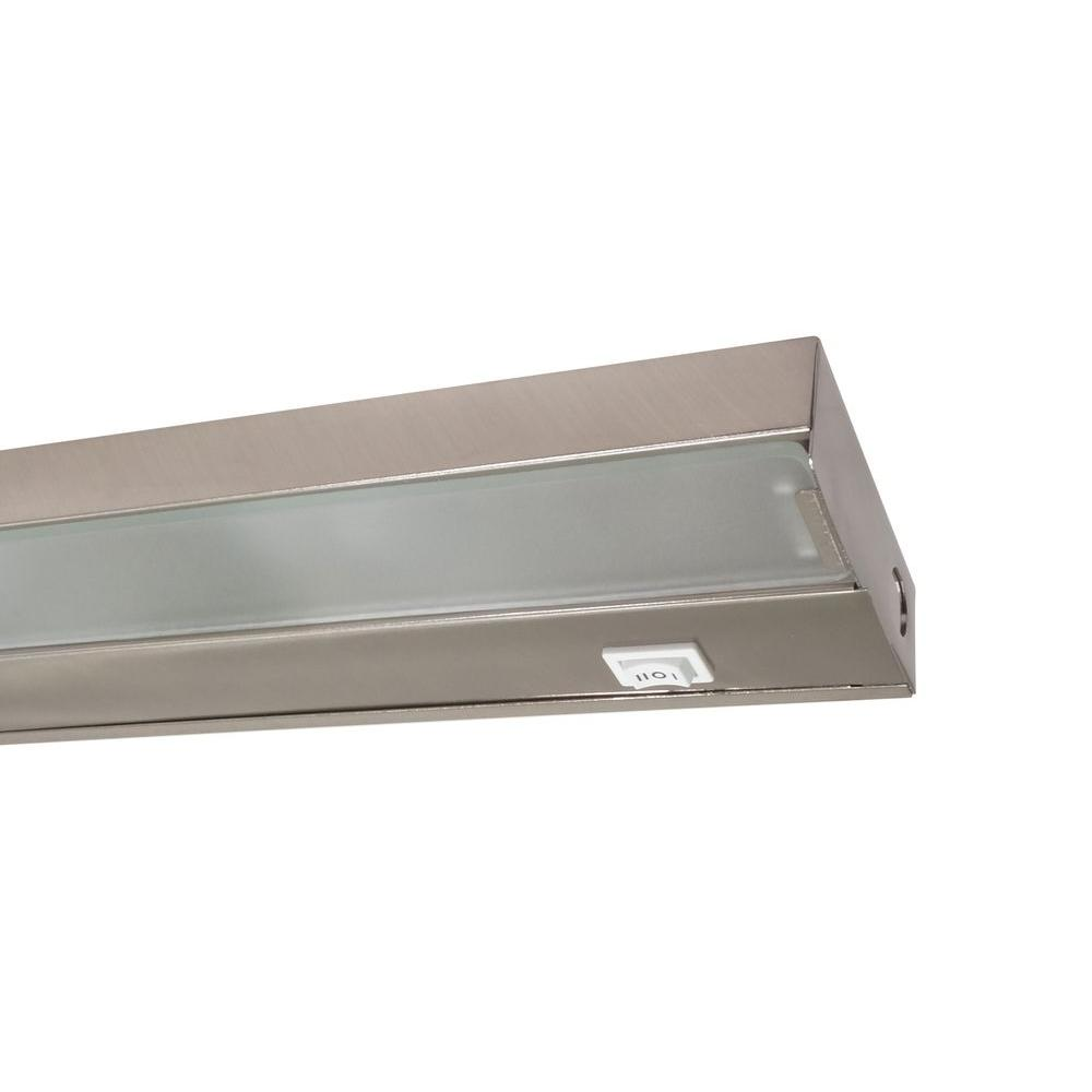 Nicor 30 In Xenon Pewter Under Cabinet Light Fixture