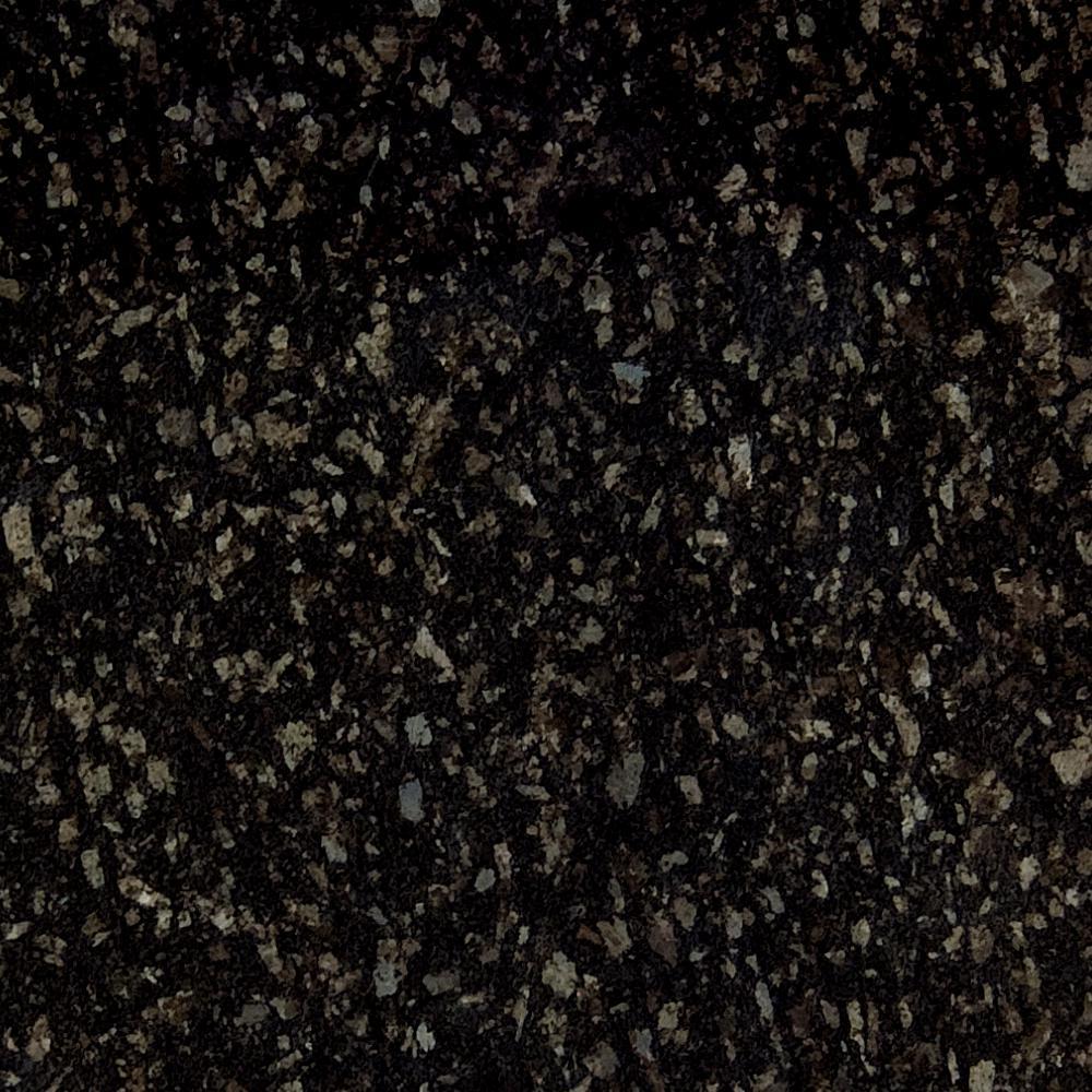 3 in. x 3 in. Granite Countertop Sample in Steel Grey