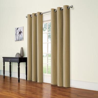Andora Jute Blackout Window Panel - 42 in. W x 84 in. L