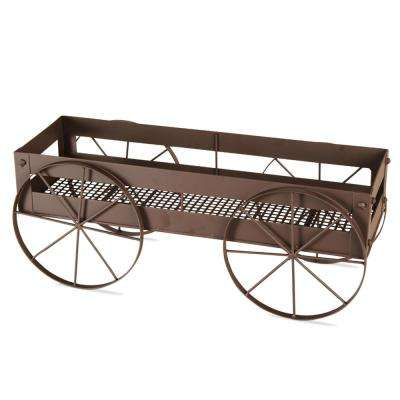 21-1/2 x 7-1/4 in. Wagon Plant Stand