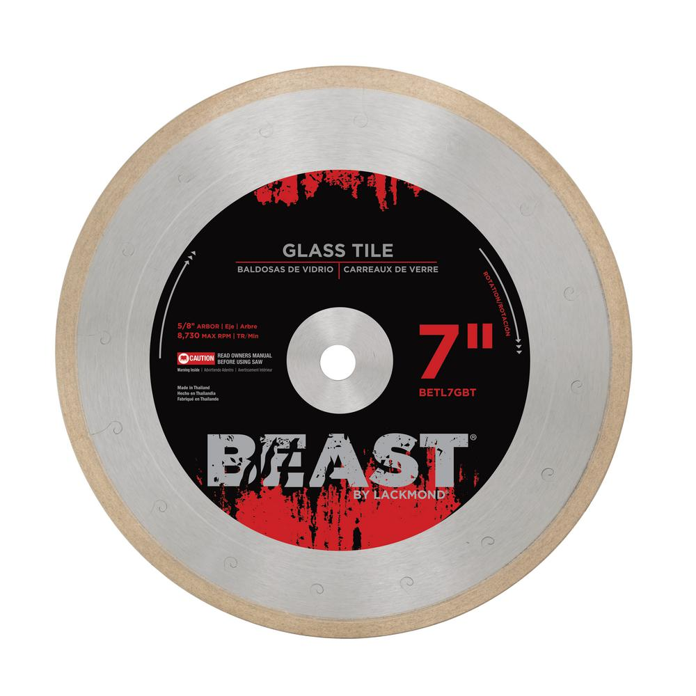 Beast 7 In Pro Series Glass Tile Blade 0 050 X 5 8 In