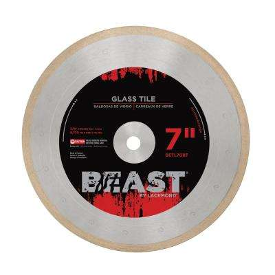 7 in. Pro Series Glass Tile Blade 0.050 x 5/8 in.