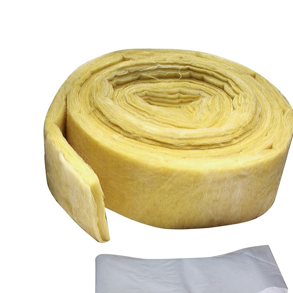 3 in. x 25 ft. Yellow Fiberglass Pipe Wrap Insulation
