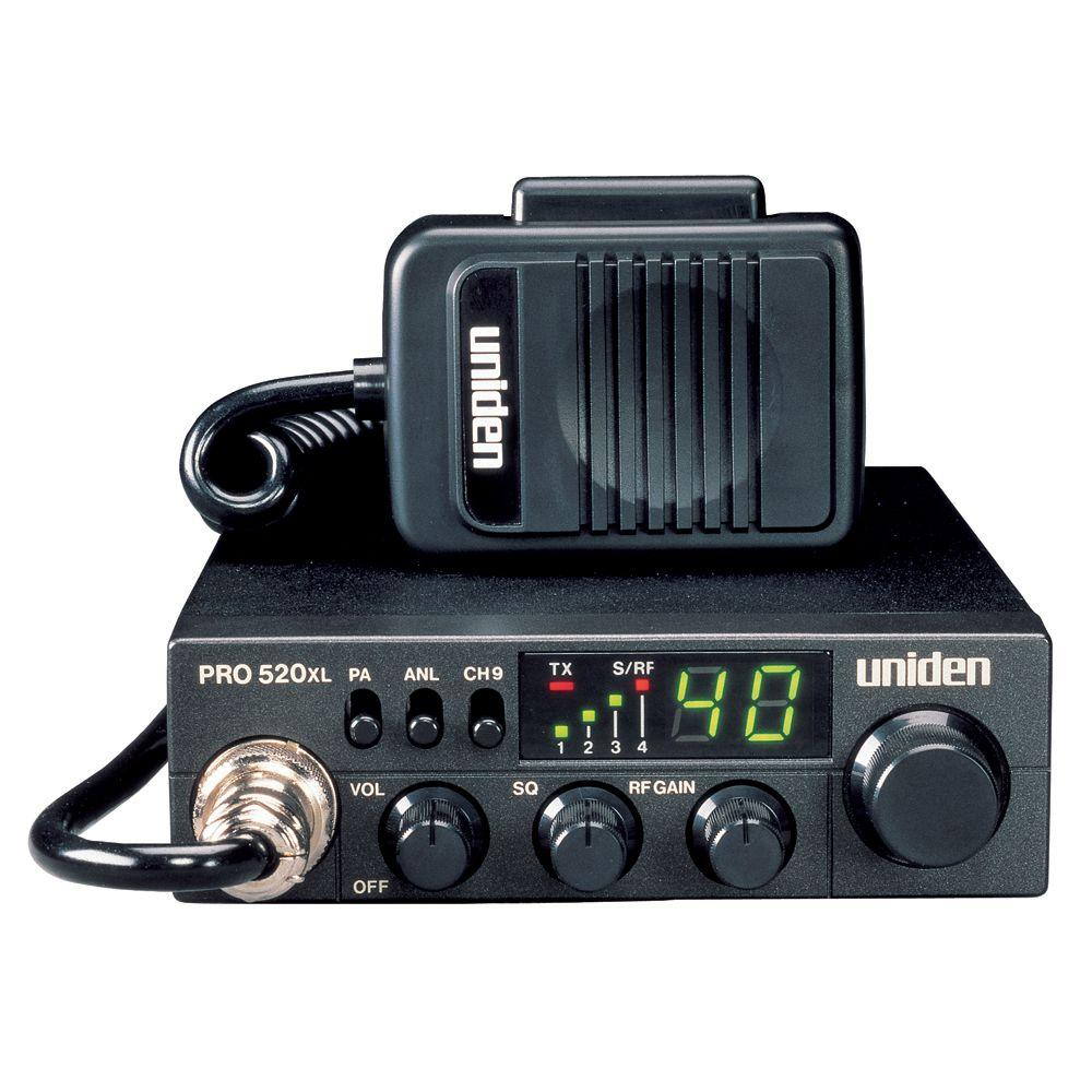 Uniden Compact 40-Channel CB 7-Watt Audio Output LED Display