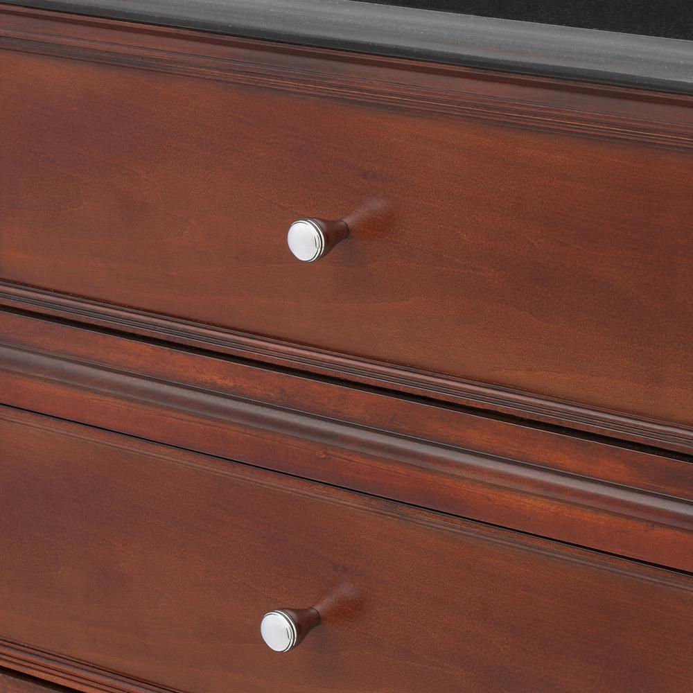 Devonshire 0.875 in. Polished Chrome Cabinet Knob