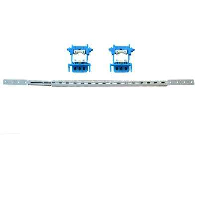 10 in. to 18 in. Stout Bracket, 2-Stout Clamps, 4-Screws