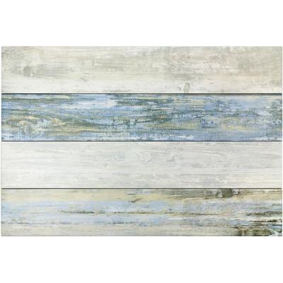 Scicily Multi Color 6 in. x 36 in. 9mm Natural Porcelain Floor and Wall Tile (7-piece 10.22 sq. ft. / box)