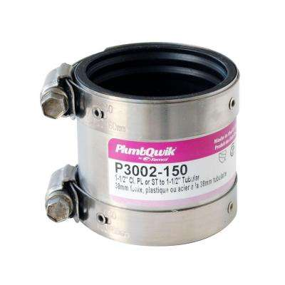 Proflex 1-1/2 in. Neoprene Shielded Coupling