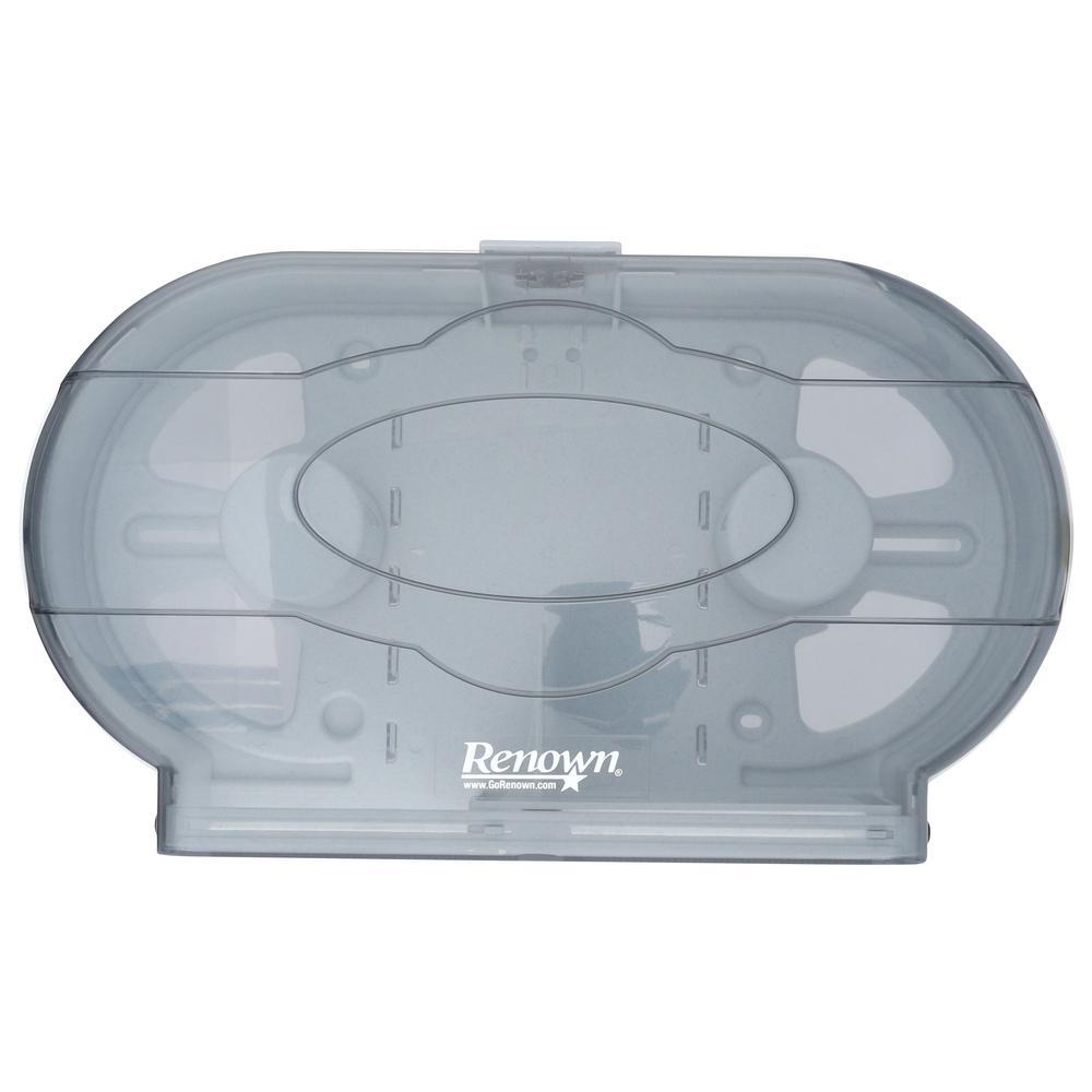 Renown Commercial Twin Jr Jumbo Toilet Tissue DispenserREN05150