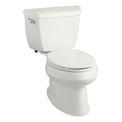 Wellworth Classic 2-Piece 1.28 GPF Single Flush Elongated Toilet in White