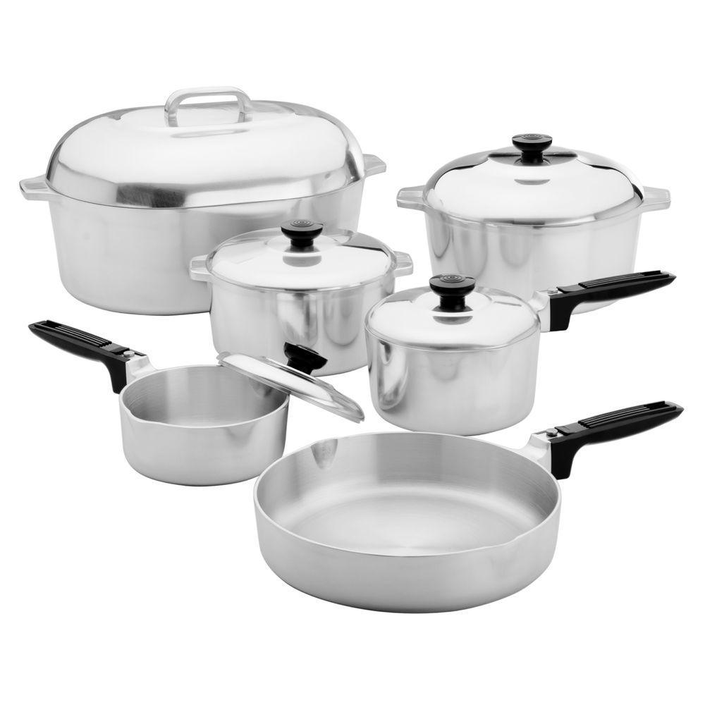 Magnalite Classic 13-Piece Cast Aluminum Cookware Set by Magnalite