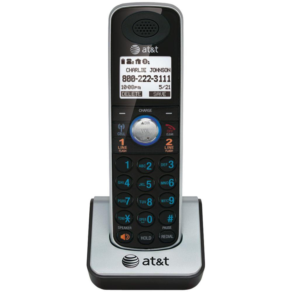 DECT 6.0 Handset Cordless Phone with Bluetooth Wireless Technology