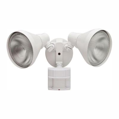 180 Degree White Motion-Sensing Outdoor Security-Light