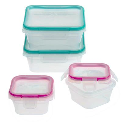 Total Solutions 8-Piece Plastic Storage Set