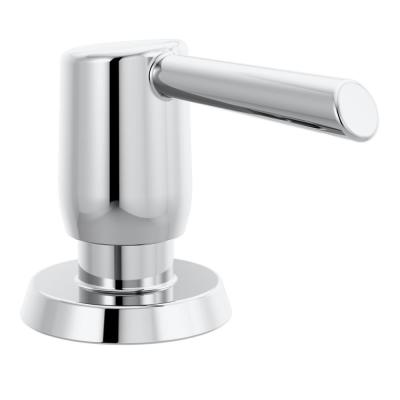 Essa Deck Mount Metal Soap Dispenser in Chrome